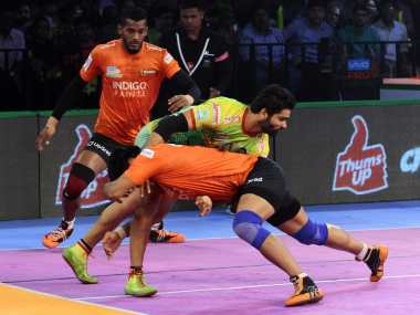 U Mumba piped hosts Patna Pirates in a thriller to continue their good run in PKL 6. Image Courtesy: PKL