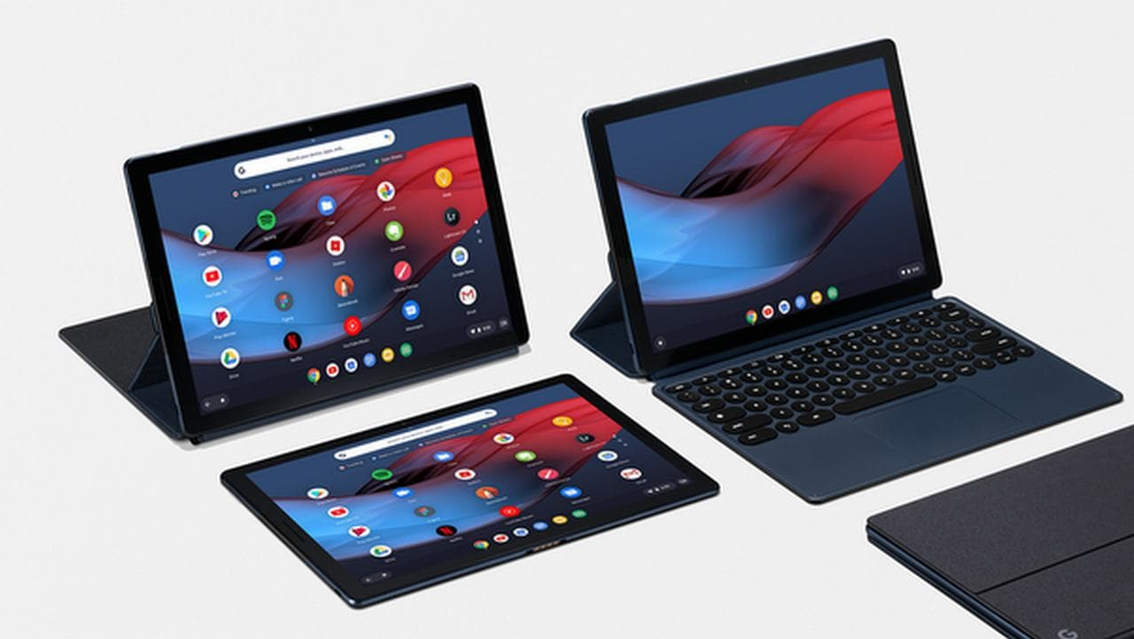 Google Pixel Slate with Chrome OS, Pixel Slate Keyboard, Pixelbook Pen launched