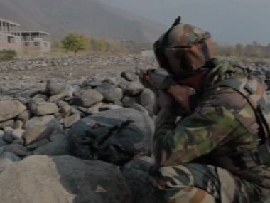 An encounter took place between security forces and terrorists in Pulwama's Tral on Tuesday. ANI
