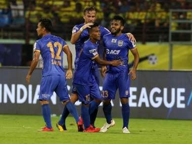 ISL 2018-19: Pranjal Bhumijs stoppage-time screamer helps Mumbai City FC salvage a point against Kerala Blasters