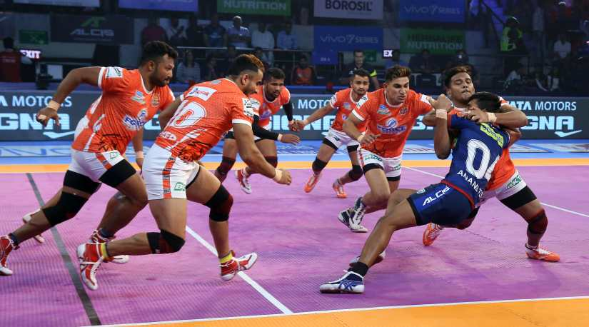 Puneri Paltan lost three matches during their home leg in Pune. Image Courtesy: PKL