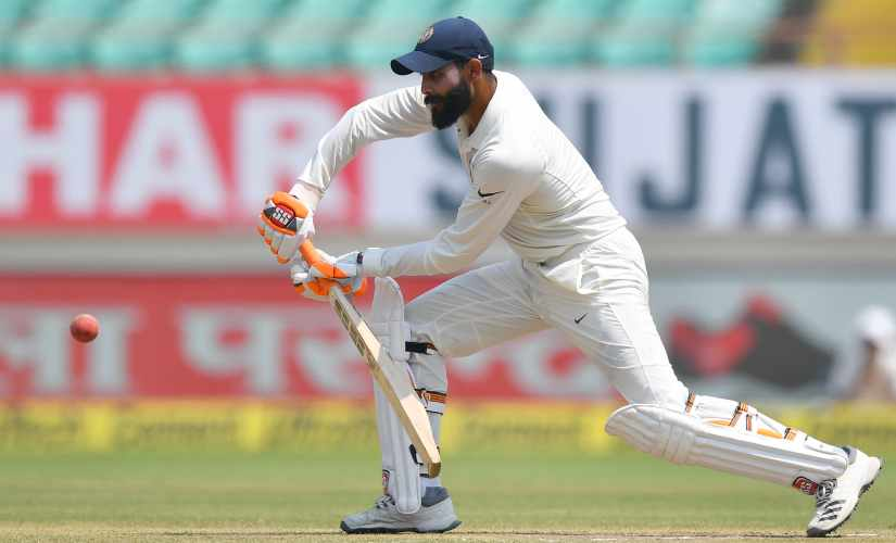 The tranquility in comeback man Ravindra Jadeja's batting augurs well for Indian team