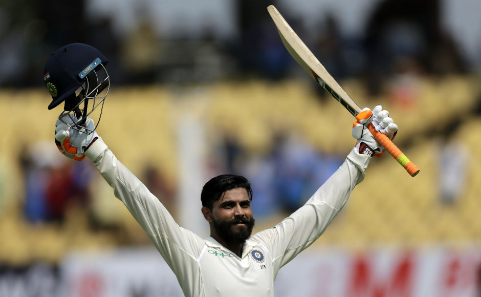 Ravindra Jadeja slams ton as dominant India post 649 before restricting West Indies to 94/6 on Day 2
