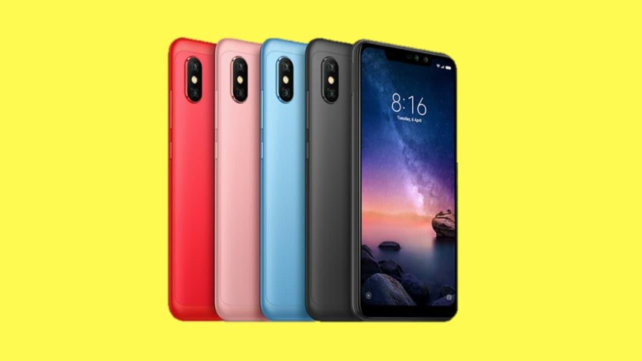 Redmi Note 6 Pro. Image: Xiaomi