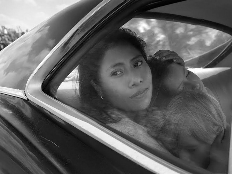 A still from Roma. YouTube