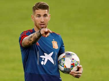 UEFA Nations League: Spain defender Sergio Ramos says he is well-prepared to play against extraordinary Harry Kane