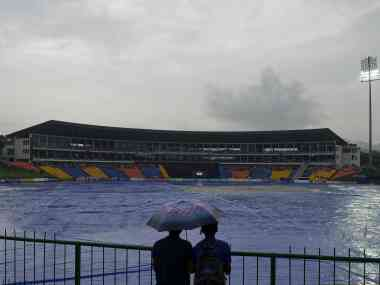 All three matches between Sri Lanka and England so far have been affected by rain. AFP