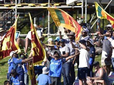 File image of Sri Lanka cricket fans. AFP