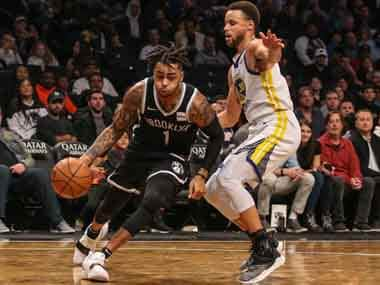 NBA: Stephen Curry breaks three-pointer record as Warriors beat Nets; Thunder edge past Suns to get first win of season