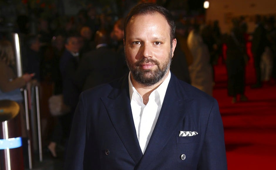 Director Yorgos Lanthimos at the premiere of The Favourite during the London Film Festival. Photo by Joel C Ryan/Invision/AP