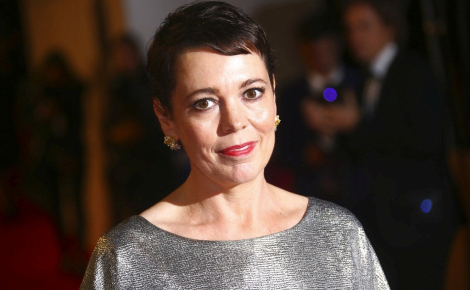 Olivia Colman poses for photographers at the premiere of the The Favourite in London. Photo by Joel C Ryan/Invision/AP