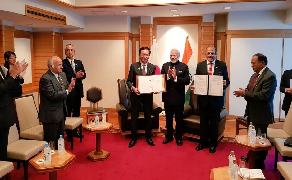 A Memorandum of Cooperation between Kanagawa prefecture and Ministry of Ayush in the field of healthcare and wellness was exchanged. Twitter/@MEAIndia