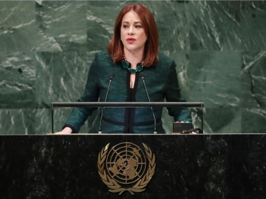 File image of UNGA president Maria Espinosa Garces