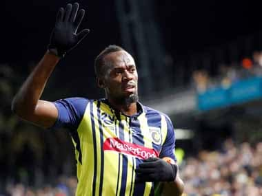 Usain Bolt 'hopeful' of becoming professional footballer despite stint with Central Coast Mariners falling through