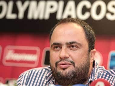 File image of Vangelis Marinakis. Reuters
