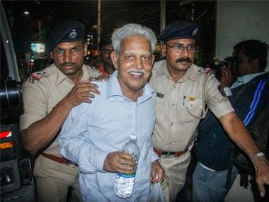 File image of Varavara Rao. PTI