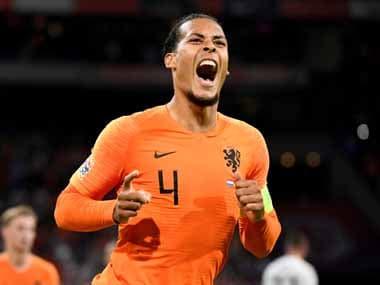 Virgil Van Dijk got on the scoresheet as the Netherlands beat 2014 World Cup winners Germany. Reuters