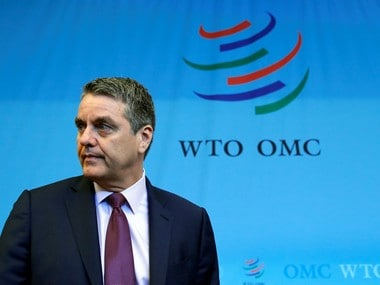 Roberto Azevedo, Director-General of the World Trade Organization (WTO), Reuters