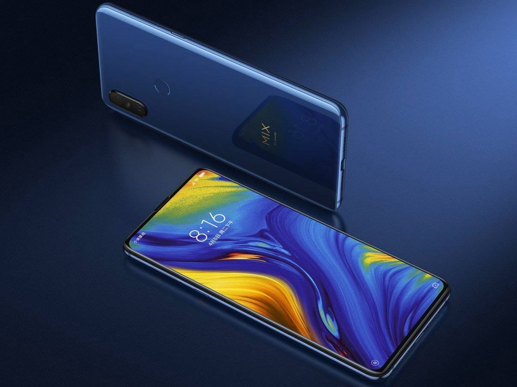 Xiaomi Mi Mix 3 launched with bezel-less display, slider design and 10 GB RAM