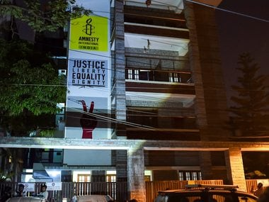 Amnesty India says its structure compliant with Indian laws, alleges govt instilling fear by conducting such raids