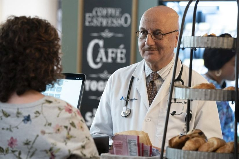 Anupam Kher in a still from New Amsterdam