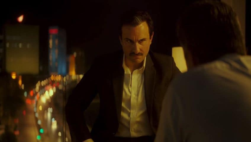 Saif Ali Khan in a still from Baazaar