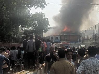 Major fire in Bandra West slum updates: Reports say wind speed disrupting firefighting ops, but blaze under control