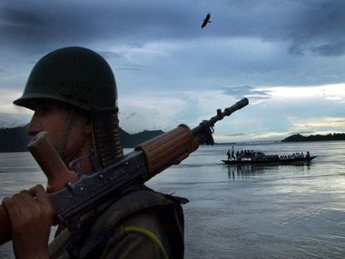 File image of the Brahmaputra river. Reuters.