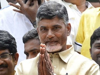 File image of Andhra Pradesh CM Chandrababu Naidu. News18