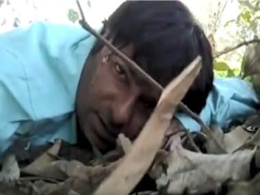 DD cameraman caught in Maoist attack in Dantewada records selfie video, tells mother 'I might not survive'