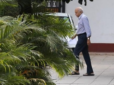 File photo of MoS of External Affairs MJ Akbar after he returned from Africa on Sunday. Reuters