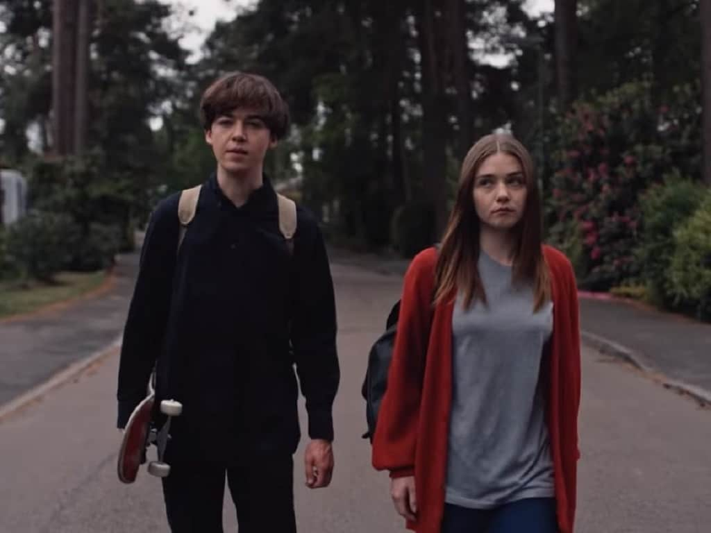 End of the f**king world. Netflix.