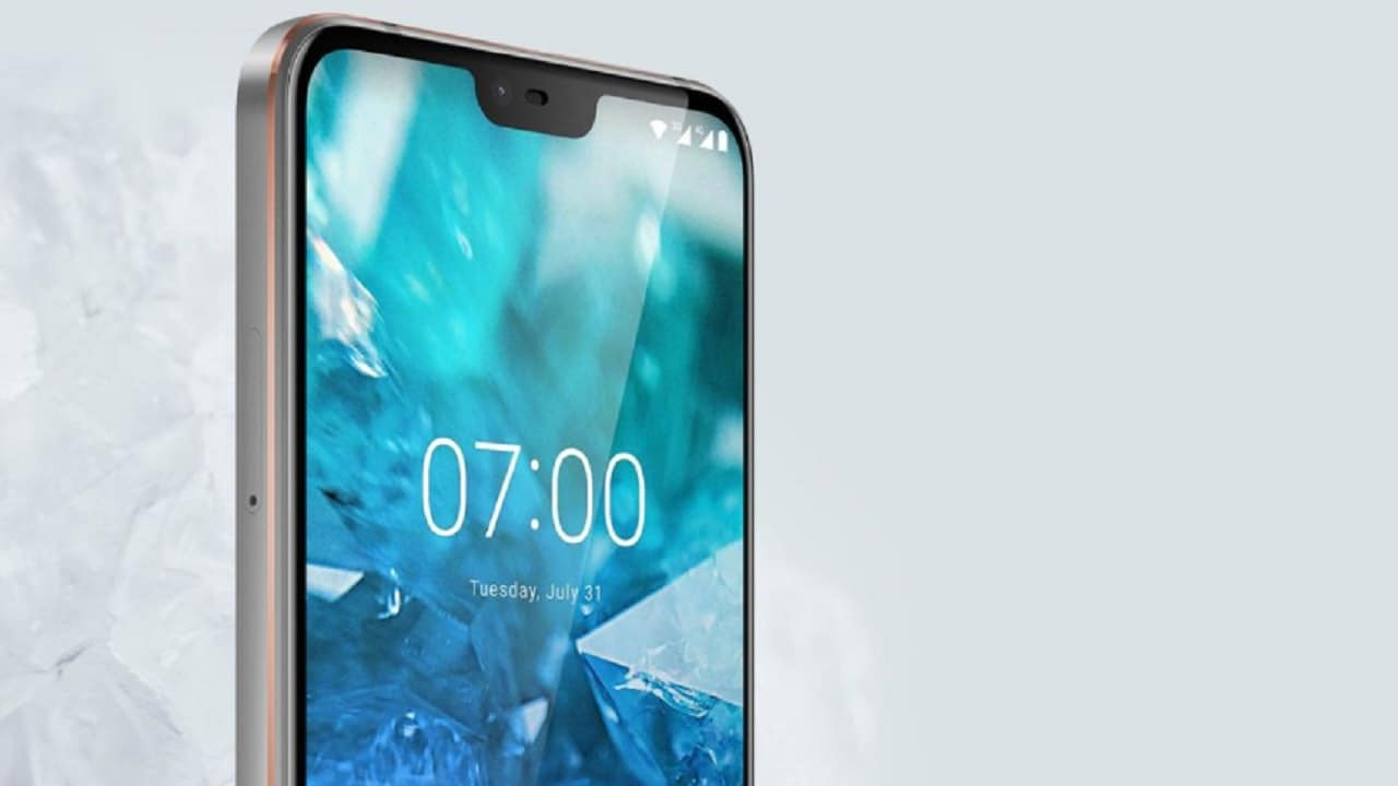 The display is one of the highlights of the Nokia 7.1.