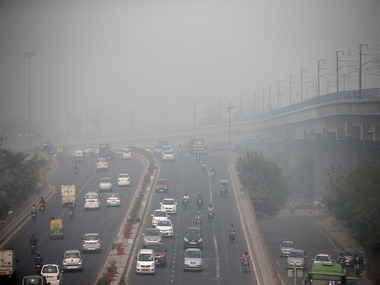 Pollution in Delhi. Reuters
