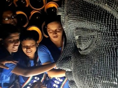 Durga Puja pandal helps the blind to see? Installation in Kolkata made of threads and nails for visually-impaired people