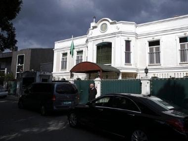 The Saudi Arabia consul's residence in Istanbul. AP