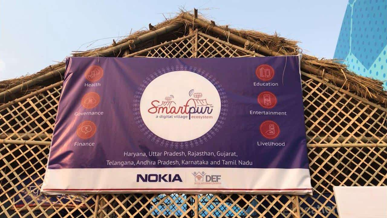 Nokia India and DEF India's initiative called Smartpur. Image: tech2/Amrita Rajput