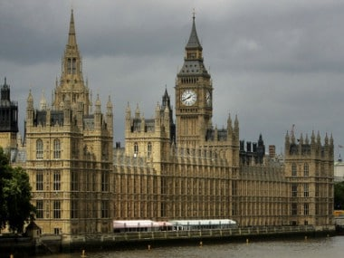 File image of the Houses of Parliament on the river Thames in London. AP