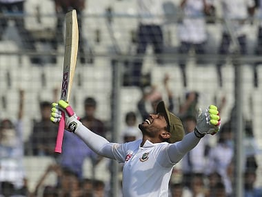 Bangladesh vs Zimbabwe: Mushfiqur Rahim's record double ton puts hosts in driving seat in second Test