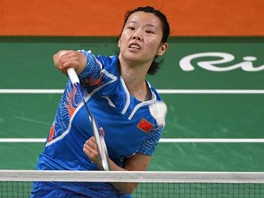 File image of China's Li Xuerui. AFP
