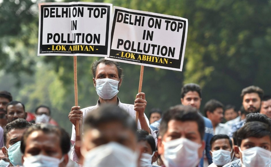 As Delhi's air quality nosedives to 'severe' category, BJP slams AAP govt over rising pollution