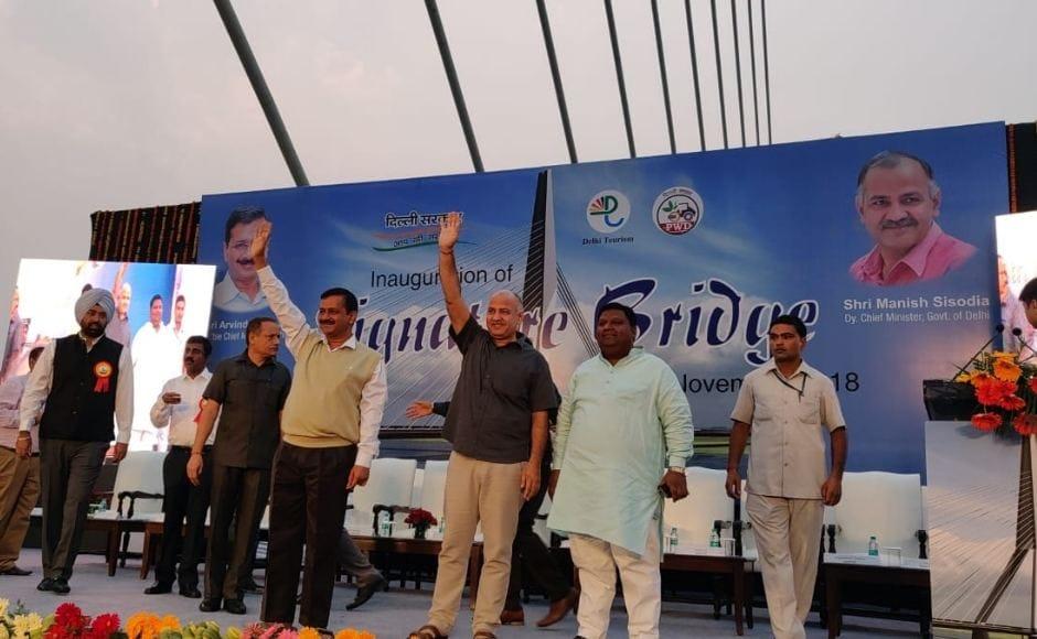 Arvind Kejriwal inaugurates Delhi's Signature Bridge: Delhi CM says structure will attract domestic, international tourists