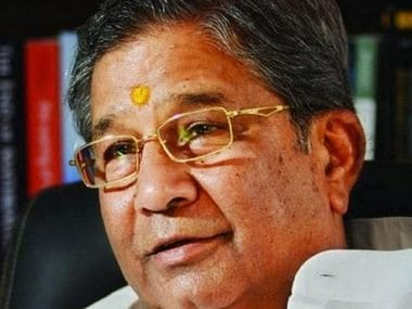 Ghanshyam Tiwari formed the Bharat Vahini party after resigning from the BJP. Image courtesy: Rangoli Agrawal