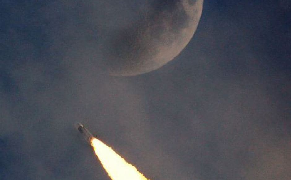 The GSLV-MkIII will be used to launch India's Chandrayaan-2 early next year and Gaganyaan before 2022. Twitter/@isro