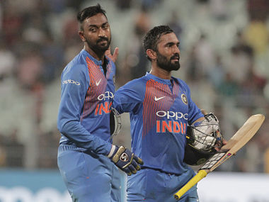 All-rounder Krunal Pandya shines on debut as India beat West Indies by five wickets in 1st T20I