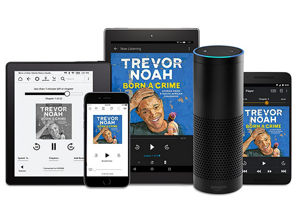 Amazon launches its audiobook service Audible in India