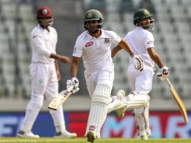 Bangladesh vs West Indies: Shadman Islam, Shakib Al Hasan's half-centuries guide hosts to solid position on opening day of second Test