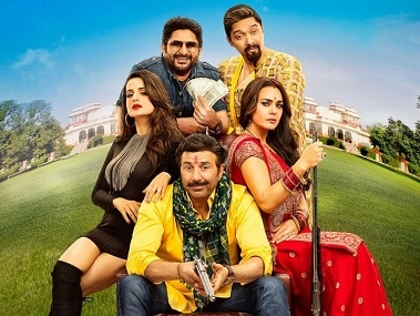 Bhaiaji Superhittt movie review: Sunny Deol screams, Preity Zinta pouts in a Jurassic-era relic with a sliver of comic potential