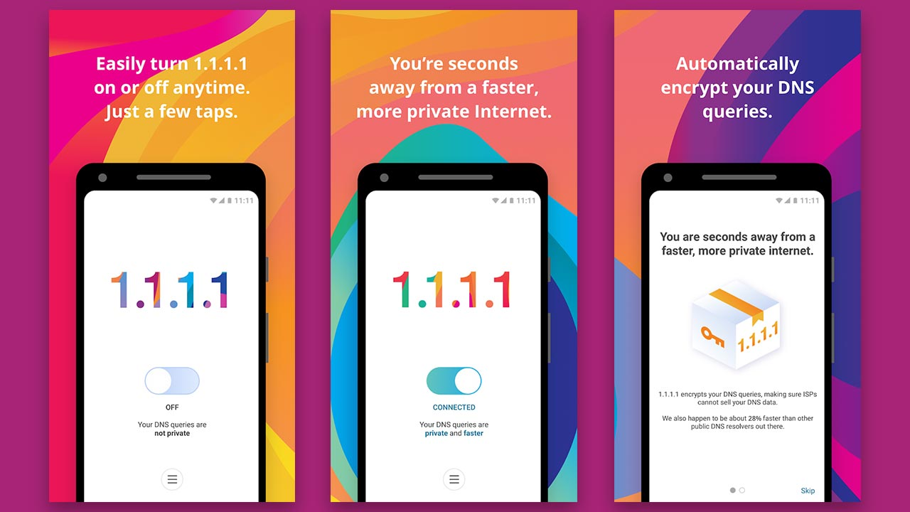 CloudFlares privacy-focussed DNS service is now available as an Android app