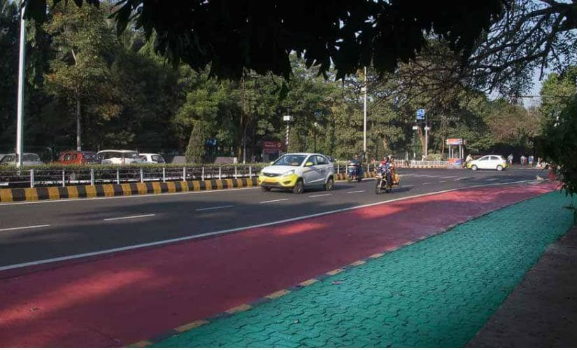 A 30km-stretch of cycling track is the latest addition to city's infrastructure. Firstpost/ Shantanu Srivastava